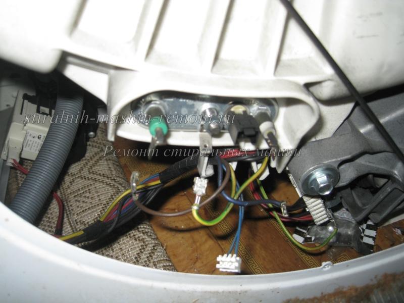 Замена тена на стиральная машина indesit